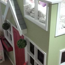Beautiful quirky bespoke child's bed